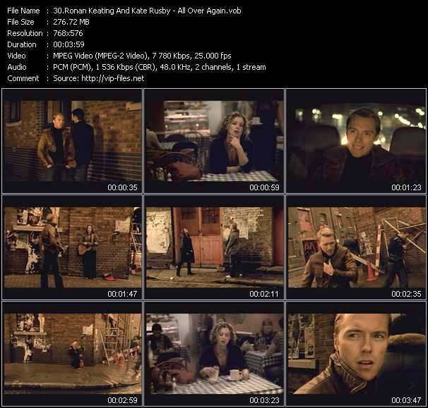 Ronan Keating And Kate Rusby video screenshot