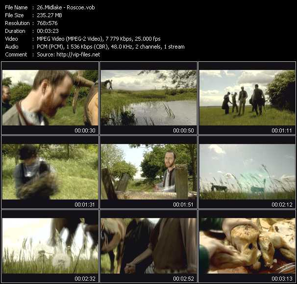 Midlake video screenshot