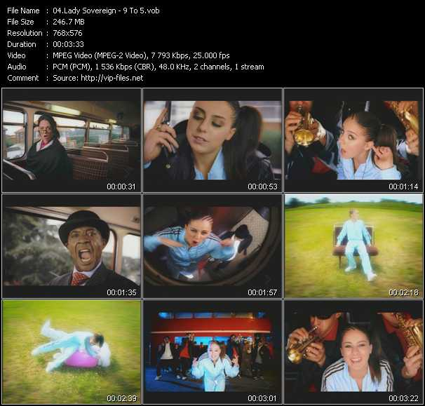 Lady Sovereign video screenshot