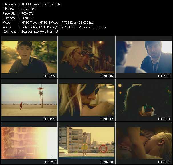Lil' Love video screenshot