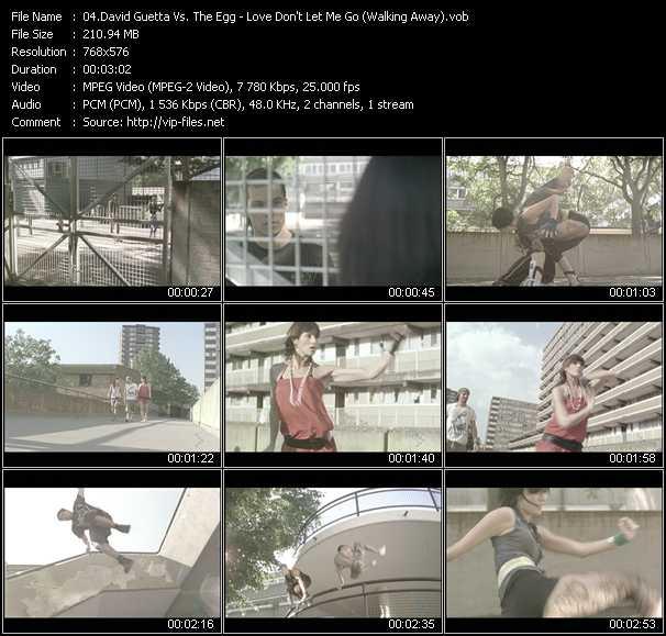 David Guetta Vs. The Egg video screenshot