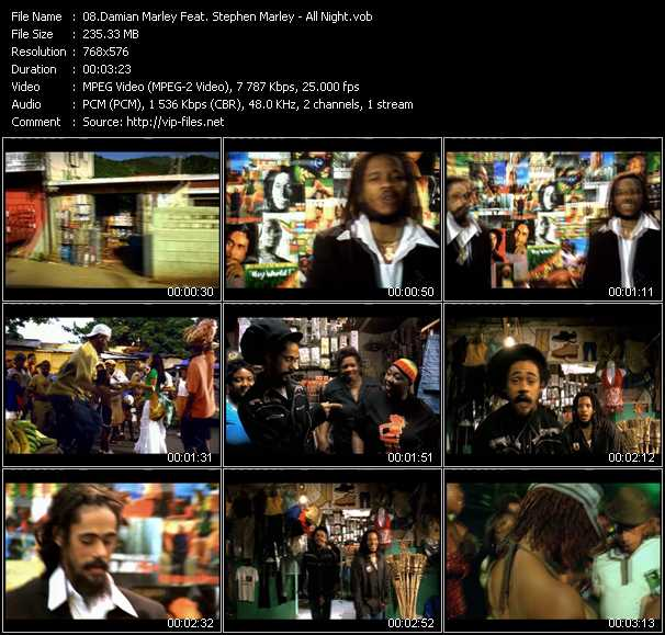 Damian Marley Feat. Stephen Marley video screenshot
