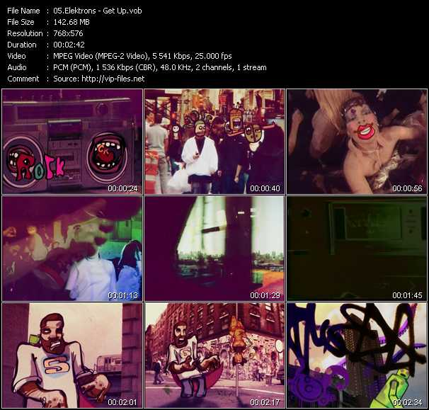 Elektrons video screenshot