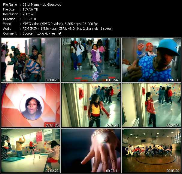 Lil' Mama video screenshot