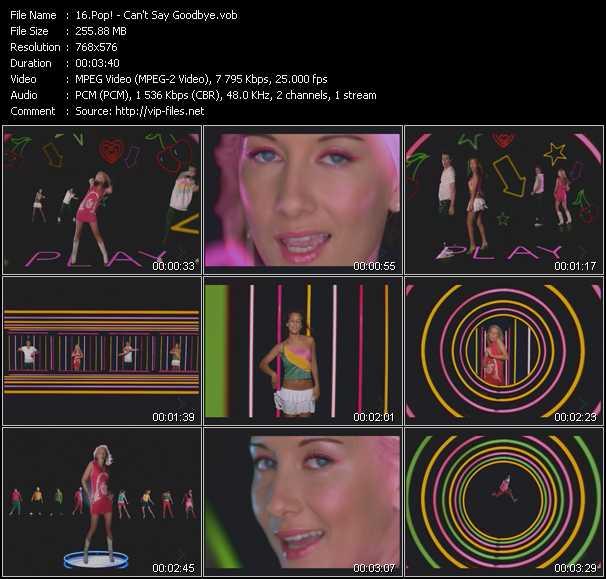 Pop! video screenshot
