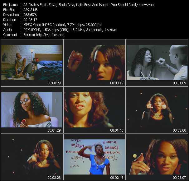 Pirates Feat. Enya, Shola Ama, Naila Boss And Ishani video screenshot
