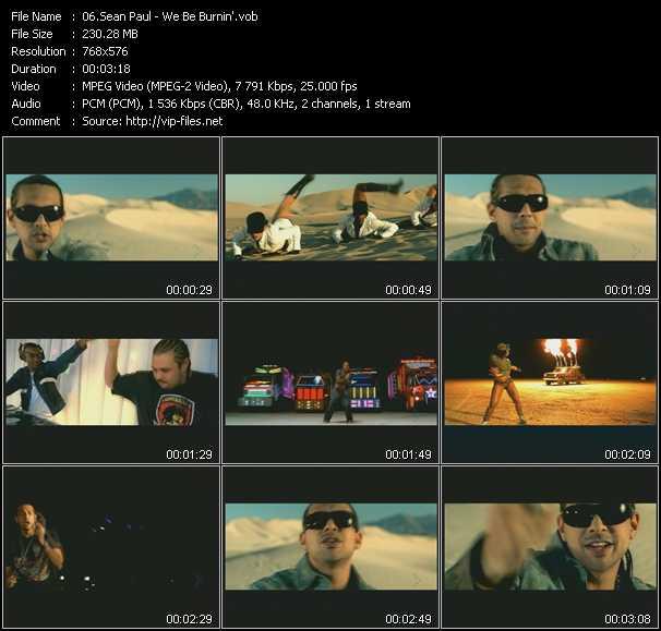 video We Be Burnin' screen