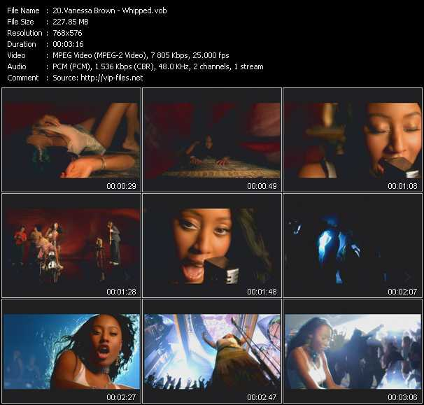 Vanessa Brown (VV Brown) video screenshot