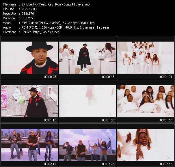 Liberty X Feat. Rev. Run video screenshot