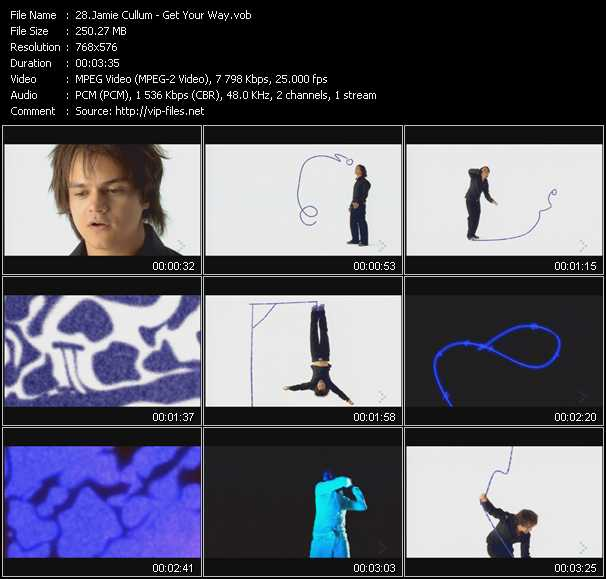Jamie Cullum video screenshot