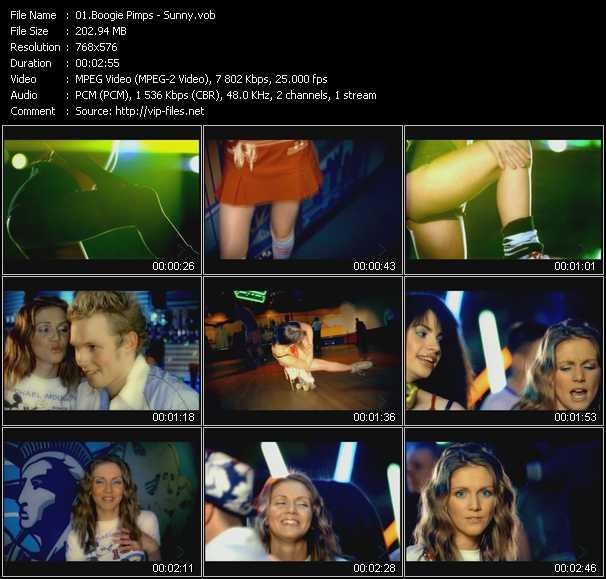 Boogie Pimps video screenshot