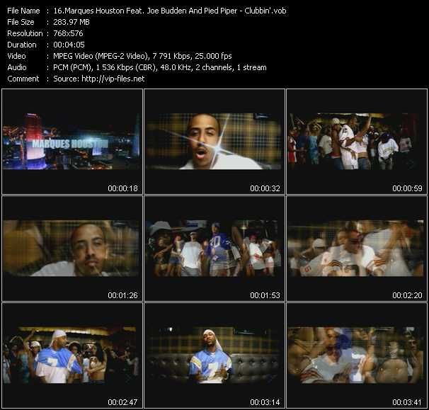 Marques Houston Feat. Joe Budden And Pied Piper video screenshot