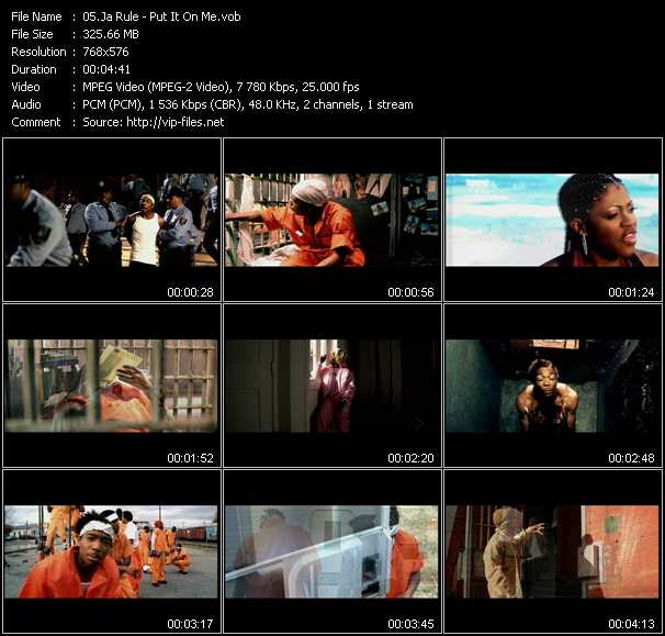 Ja Rule Feat. Lil' Mo And Vita video screenshot