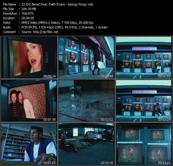 Eric Benet Feat. Faith Evans video screenshot