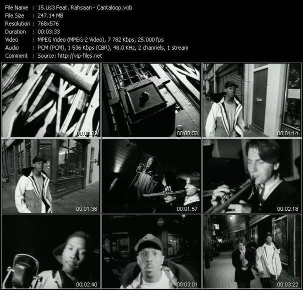 Us3 Feat. Rahsaan video screenshot