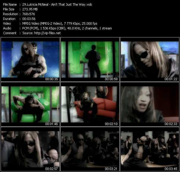 Lutricia McNeal video screenshot