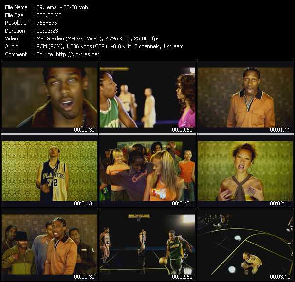 Lemar video screenshot