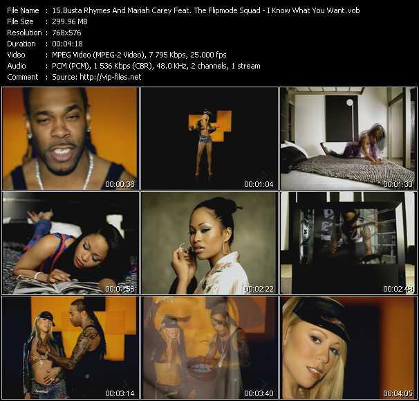 Busta Rhymes Feat. Mariah Carey And Flipmode Squad video screenshot