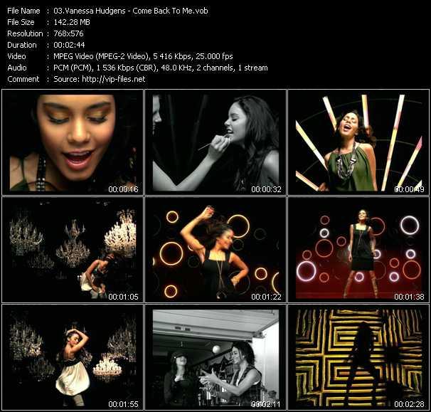 Vanessa Hudgens video screenshot