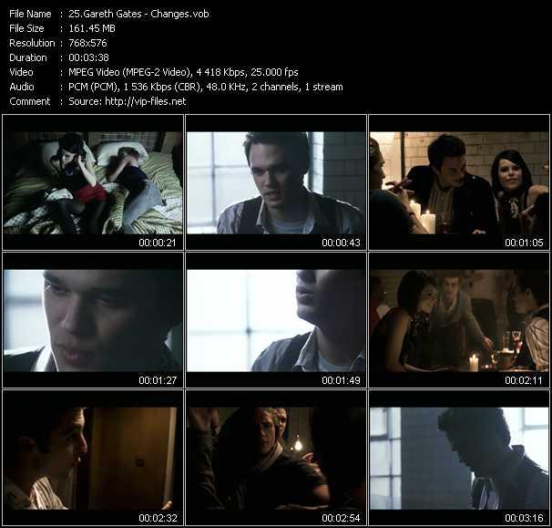 Gareth Gates video screenshot