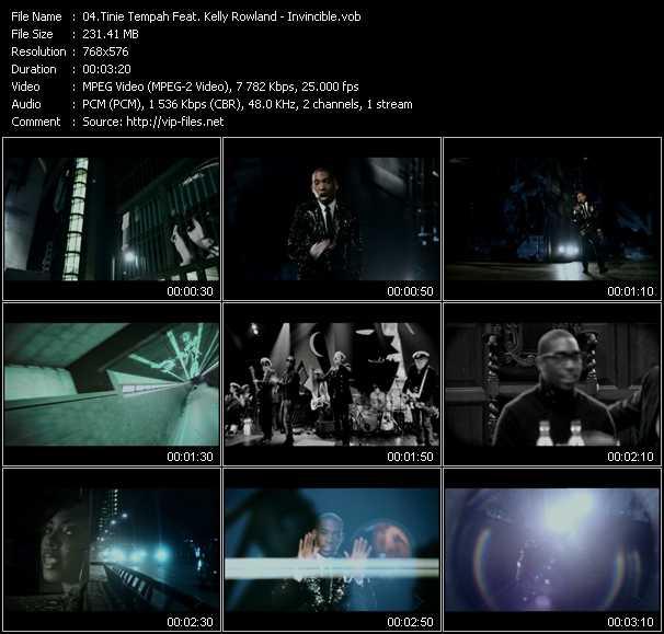 Tinie Tempah Feat. Kelly Rowland video screenshot