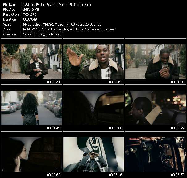 Loick Essien Feat. N-Dubz video screenshot