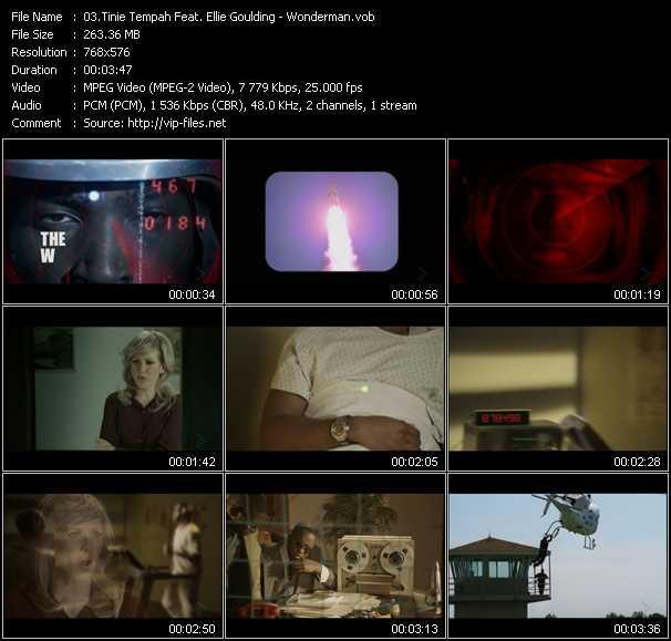Tinie Tempah Feat. Ellie Goulding video screenshot