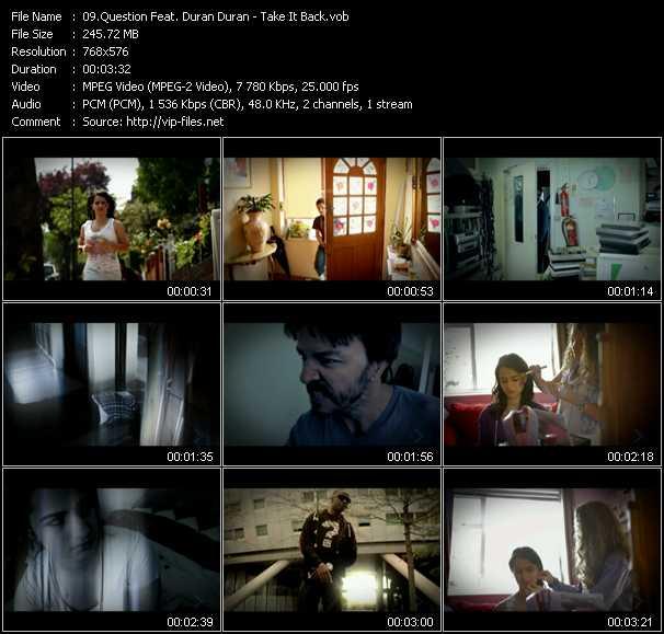 Question Feat. Duran Duran video screenshot