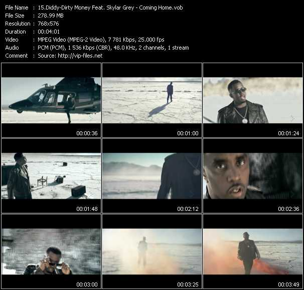 Diddy - Dirty Money Feat. Skylar Grey video screenshot