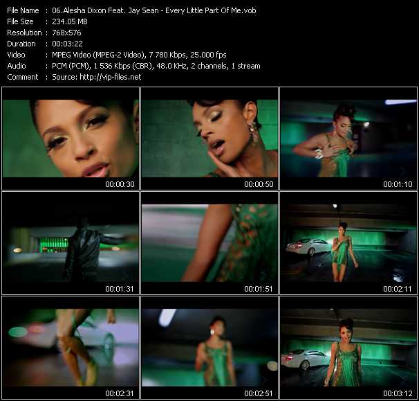 Alesha Dixon Feat. Jay Sean video screenshot