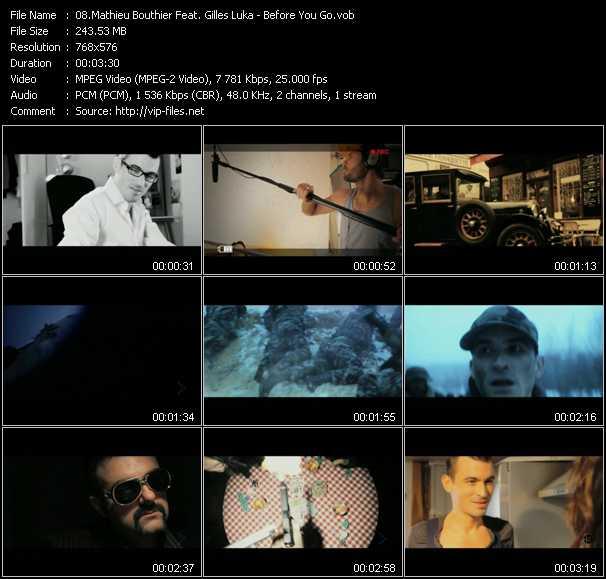 Mathieu Bouthier Feat. Gilles Luka video screenshot