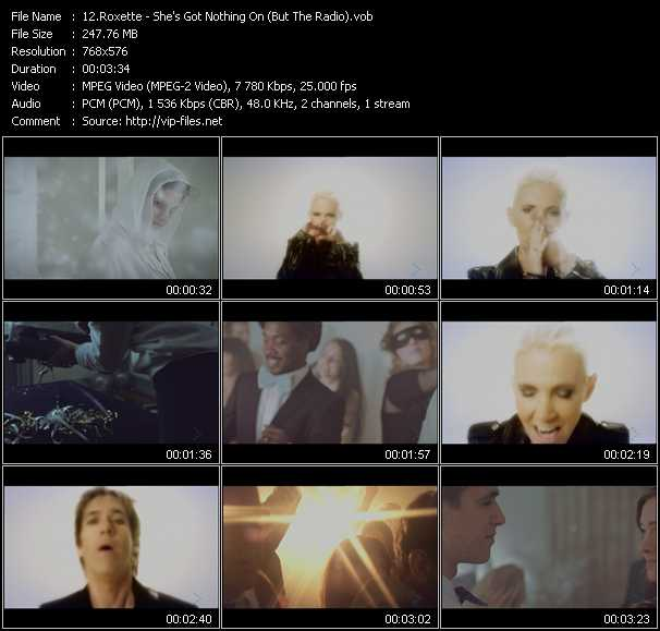 Roxette video screenshot