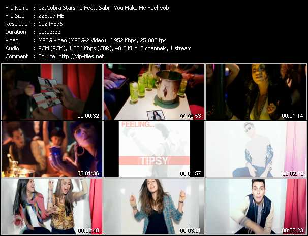 Cobra Starship Feat. Sabi video screenshot