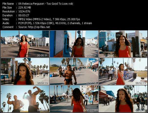 Rebecca Ferguson video screenshot