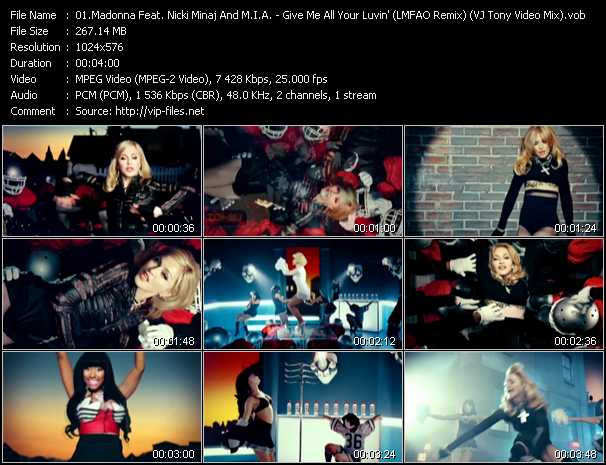 Madonna Feat. Nicki Minaj And M.I.A. video screenshot