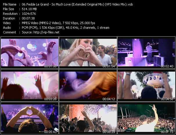 Fedde Le Grand video screenshot