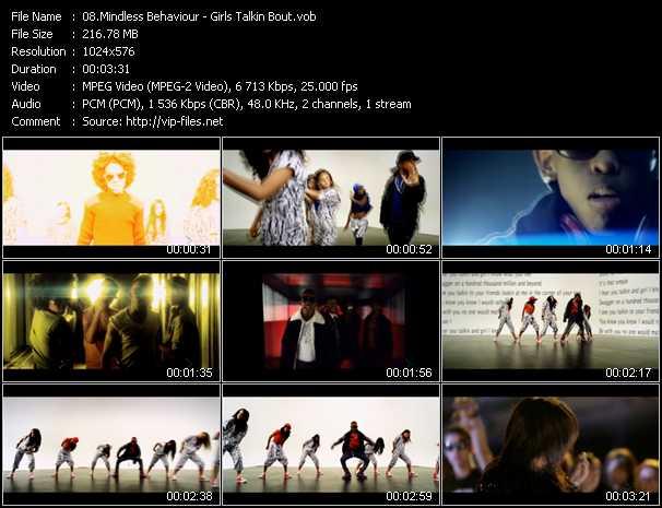 Mindless Behaviour video screenshot