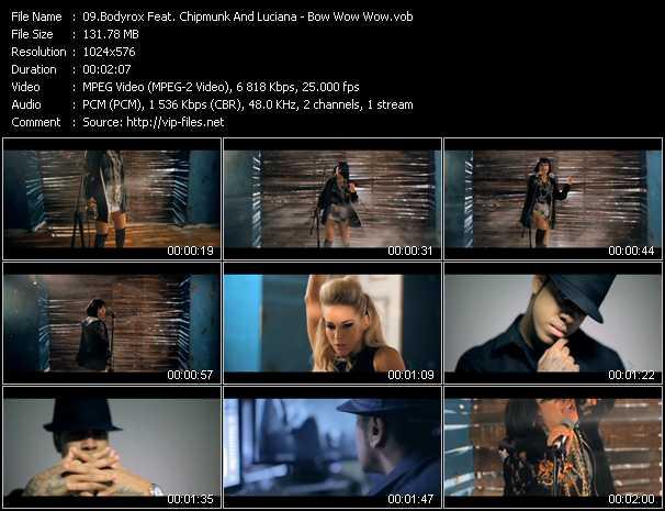Bodyrox Feat. Chipmunk And Luciana video screenshot