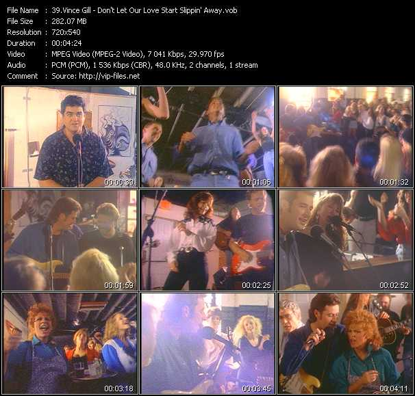 Vince Gill video screenshot