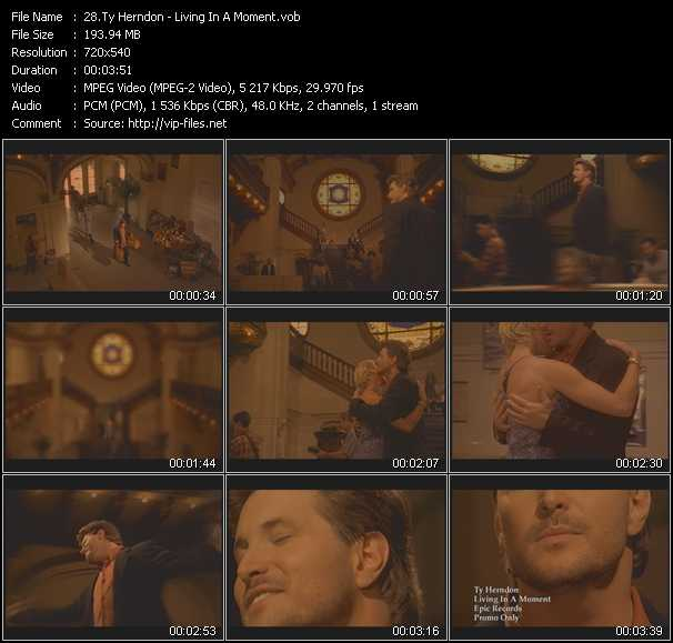 Ty Herndon video screenshot