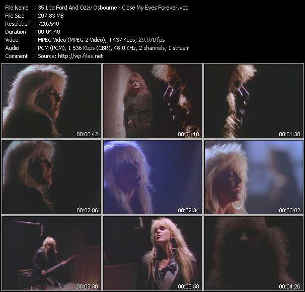Lita Ford And Ozzy Osbourne video screenshot