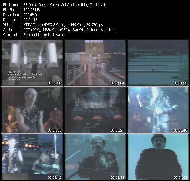 Judas Priest video screenshot