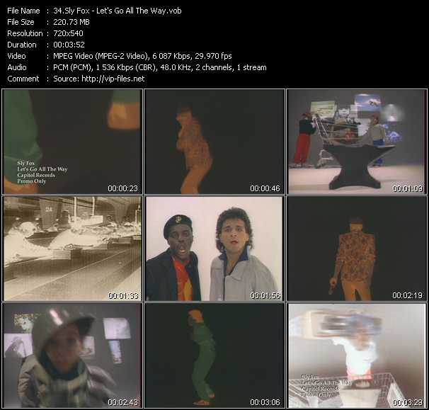 Sly Fox video screenshot