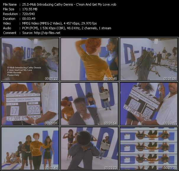 D-Mob With Cathy Dennis video screenshot