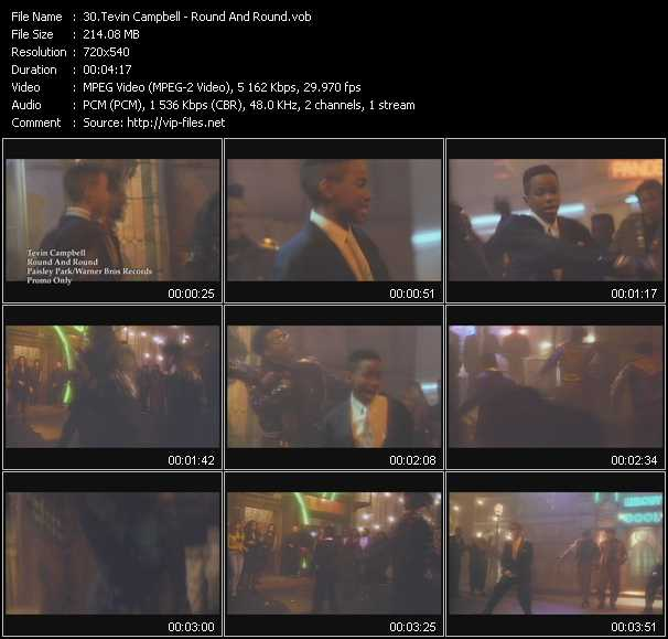 video Round And Round screen