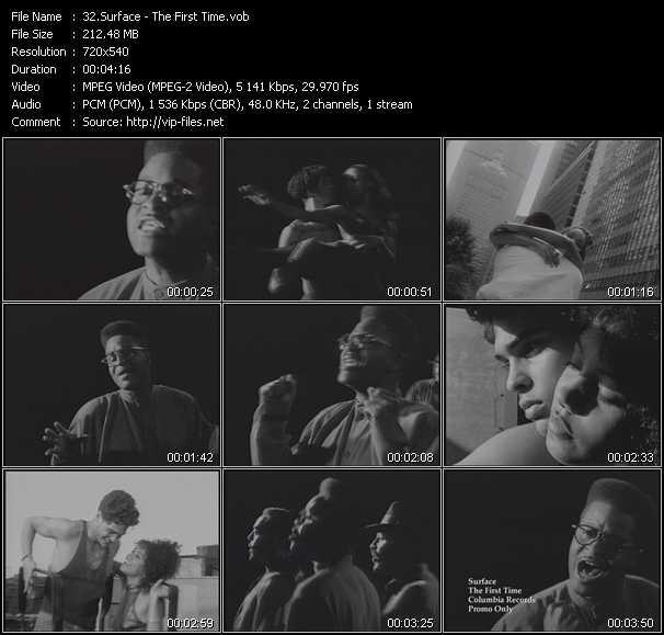 Surface video screenshot