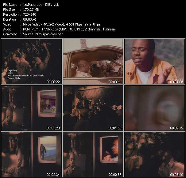 Paperboy video screenshot