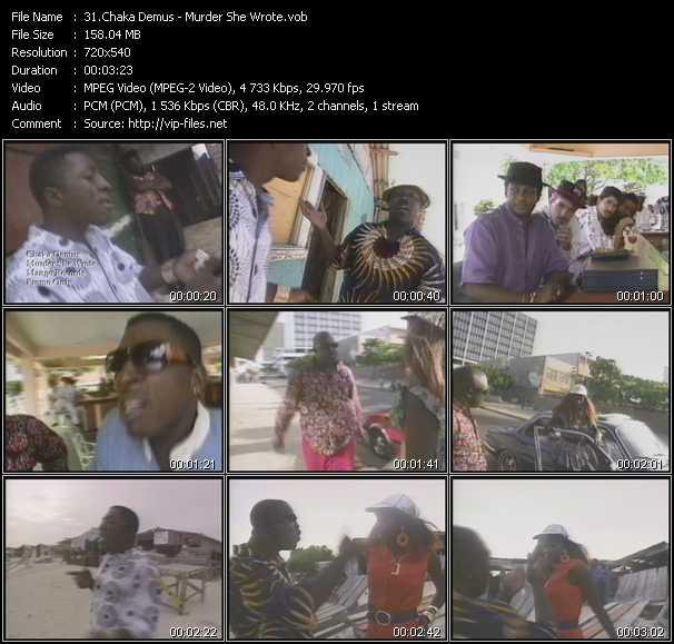 Chaka Demus video screenshot