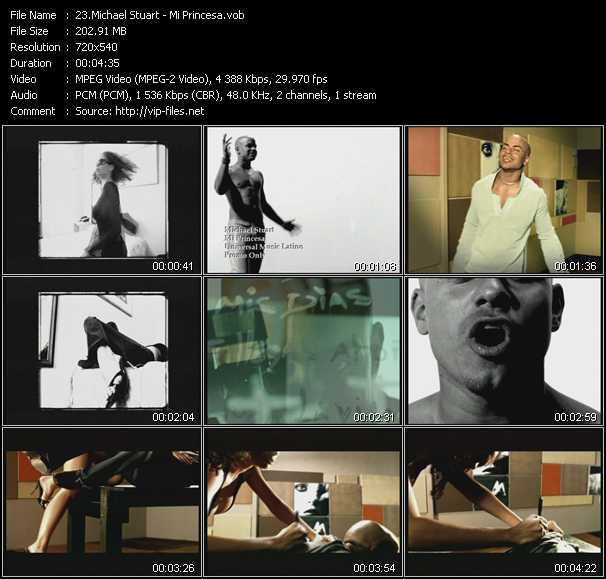 Michael Stuart video screenshot