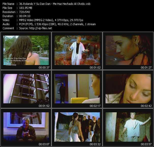 Rolando Y Su Dan Dan video screenshot